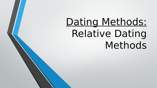 Dating in archaeology relative Helladic chronology