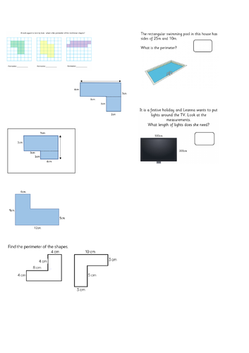 Perimeter of rectilinear shapes