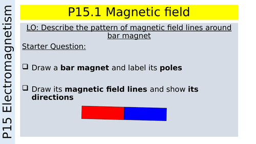 P15 Physics Magnetic Field
