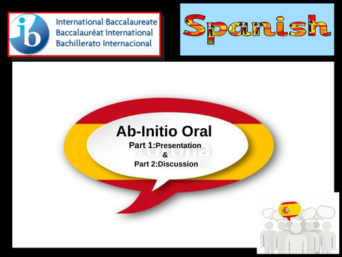 Spanish IB AB Initio picture practice