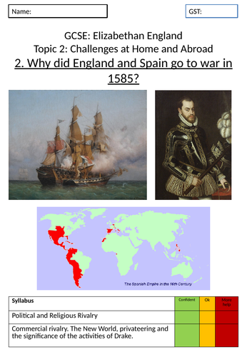 Elizabeth I: War with Spain