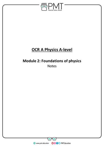 OCR (A) A-Level Physics Notes