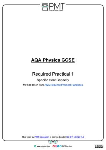 AQA GCSE Physics Practical Notes