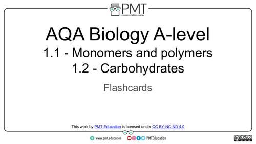 AQA A-Level Biology Flashcards