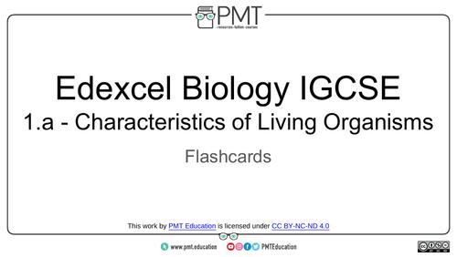 Edexcel IGCSE Biology Flashcards