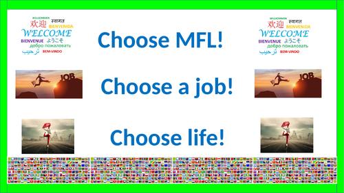 Choose MFL! Choose a Career!