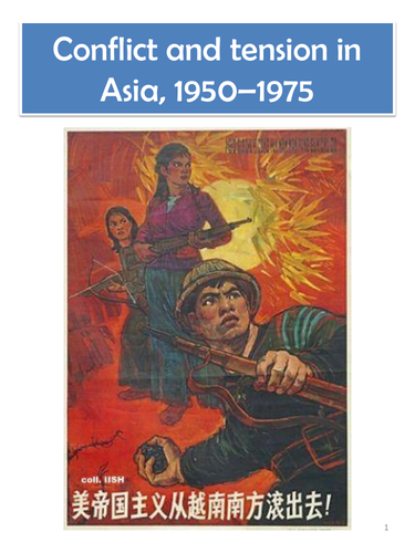 AQA GCSE History Conflict and tension in Asia, 1950–1975 - Revision Guide.