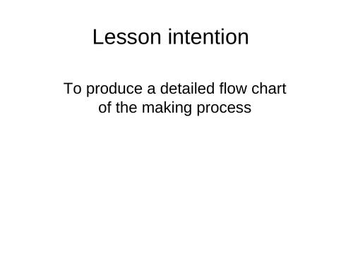 Flow Chart - D&T
