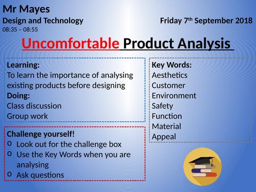 Product Analysis FULL LESSON KS3