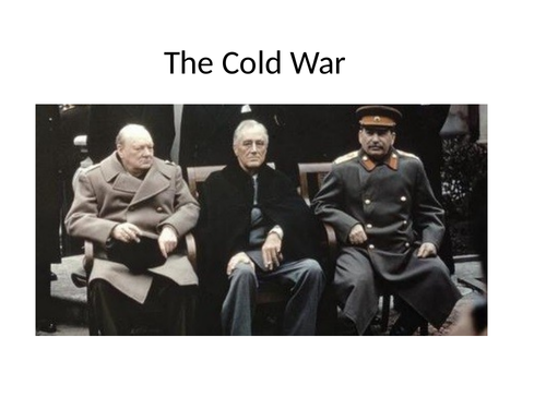 Edexcel, GCSE History: The Cold War 1945-91. History A: the Making of the Modern  - 10 Slide Preview