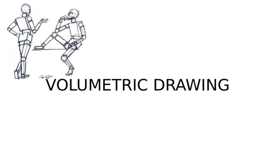 Volumetric figure drawing powerpoint and resources
