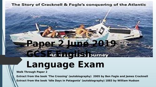 Paper 2 June 2019 GCSE English Language Exam