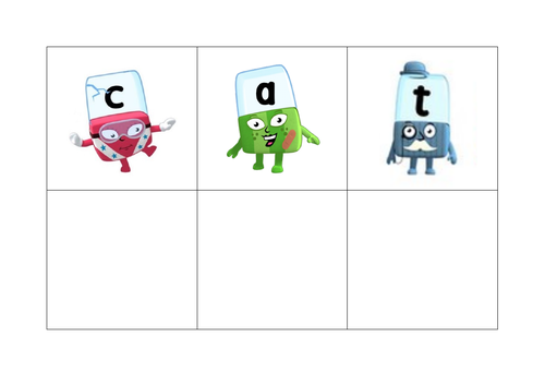 CVC words - alphablocks