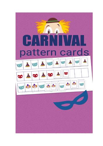 CARNIVAL / CARNEVAL PATTERN CARDS