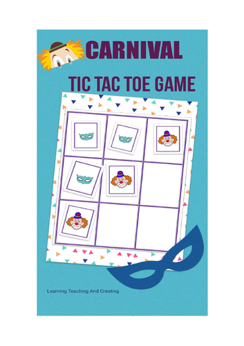 CARNIVAL  FREE TIC TAC TOE GAME