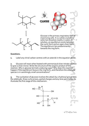 Glucose: Practicexamquest