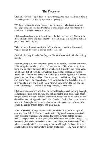 Portal Story - Writing - Text Analysis