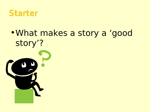 Writing Skills KS3 - Writing a Story