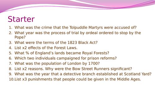 Crime and Punishment (1700-1900): Pentonville Prison