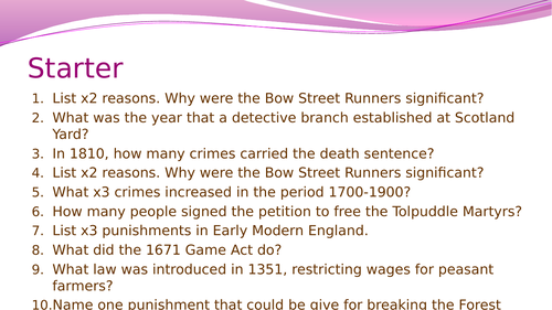 Crime and Punishment (1700-1900): Robert Peel and the Metropolitan Police Force