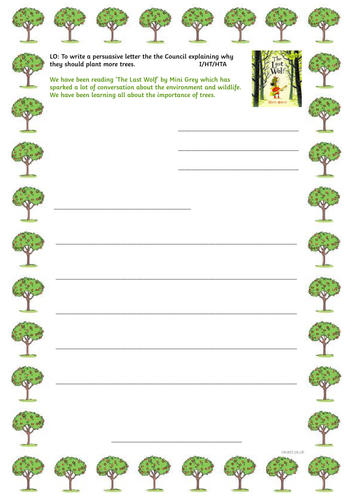 The Last Wolf by Mini Grey Planning and Resources Aimed at Y1/2