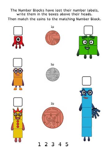 Numberblocks & Money (UK) introduction
