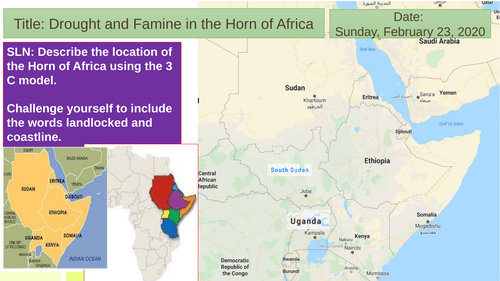 Horn of Africa, drought and Famine 2020