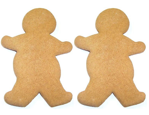 Gingerbread Man Halving Mat