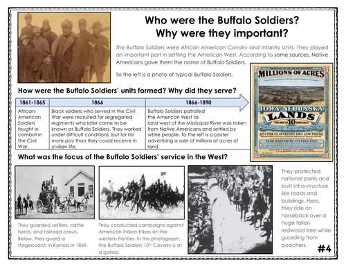 Buffalo Soldiers Infograph
