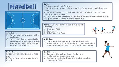 Basic Handball Rules