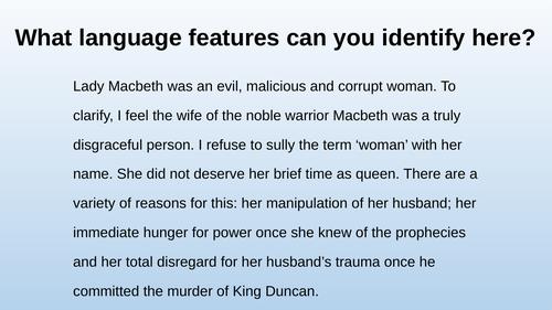 Lady Macbeth on trial
