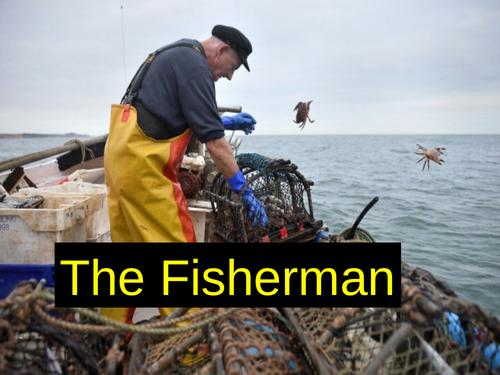 WJEC GCSE poetry 2021 - 'The Fisherman' by Christine Evans
