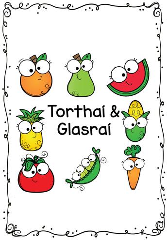 Tórthaí & Glasraí Fruit & Vegetables Vocab Booklet