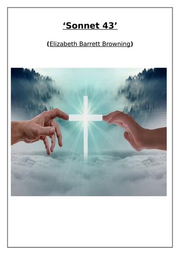 'Sonnet 43' Poem (Elizabeth Barrett Browning) Comprehension Questions