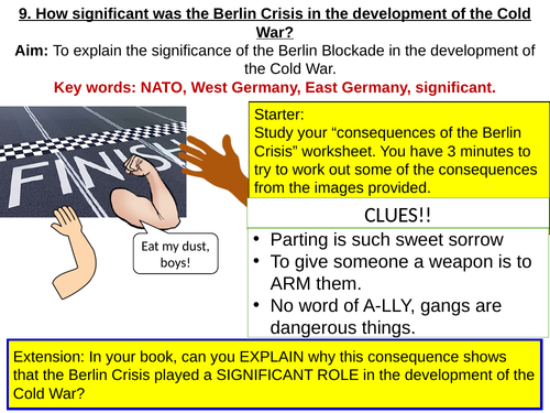 GCSE (AQA) How significant was the Berlin Blockade?