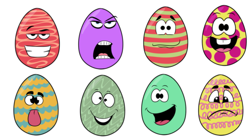 Easter Egg- Clipart- Creator Kit- For Personal or Commercial Use