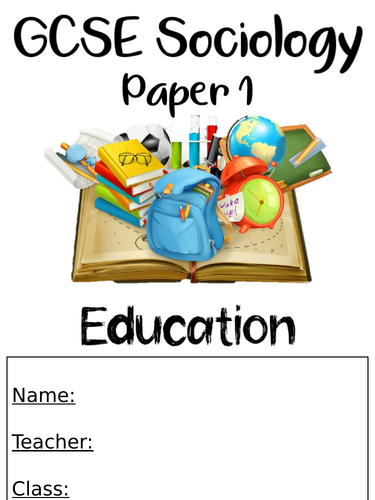 Education Key Thinker Work Booklet
