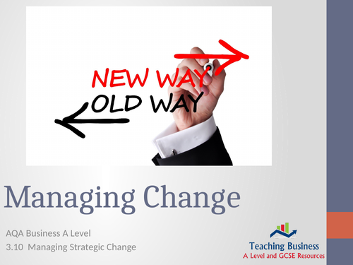 AQA Business - Managing Change