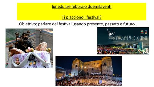 Festivals Italian GCSE Edexcel