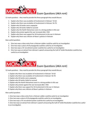 Vietnam Monopoly