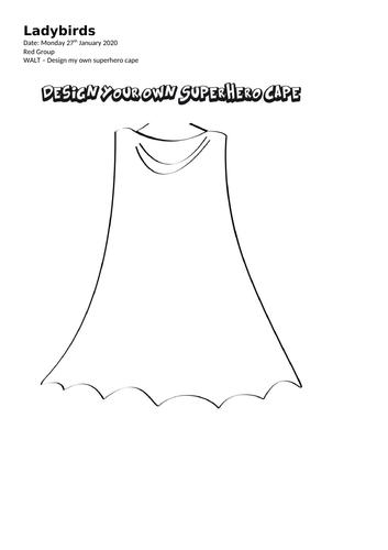 EYFS Superhero Literacy/Writing Bundle.