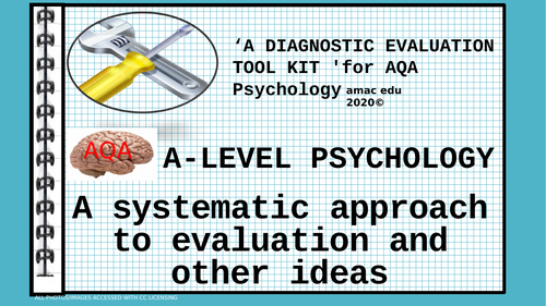 """AQA A-Level Psychology """"Evaluating Made Simple"""" an essential resource for exam preparation"""
