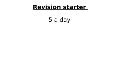 Solving Equations - GCSE Foundation Revision