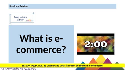 E-Commerce Computing Unit