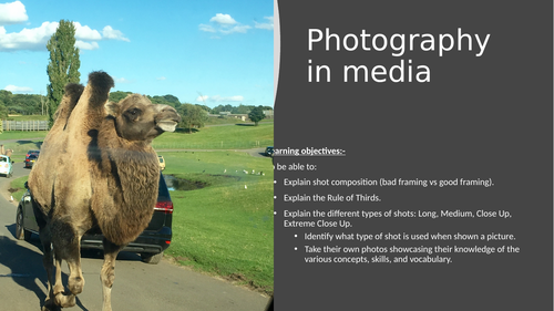 Photography in Media