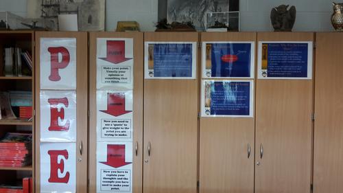 PEEL Classroom Display