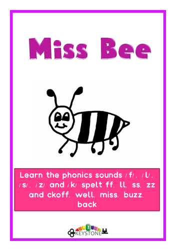 Miss Bee small book