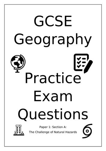 AQA GCSE Geography Practice Exam Questions