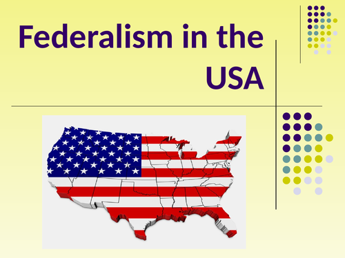 Federalism in the USA