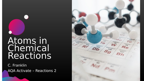 Atoms in Chemical Reactions